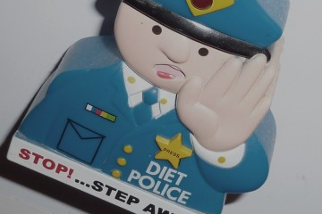 Diet Police kitchen magnet