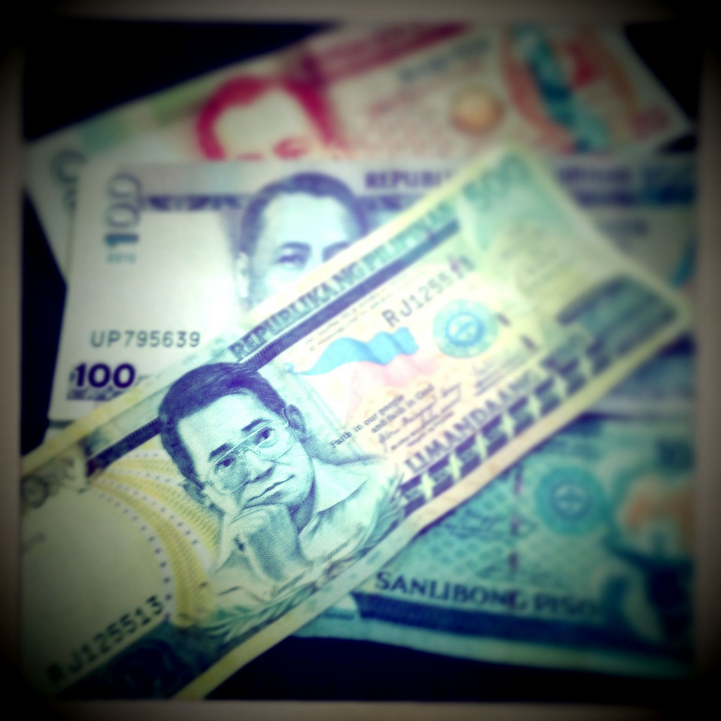 Paper currency from the Philippines