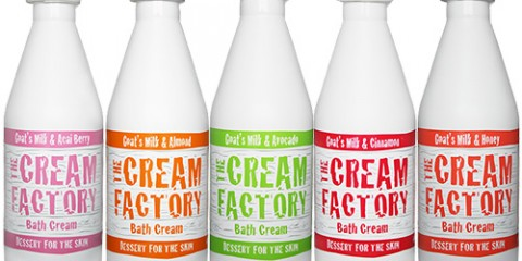 Have Fun under the Shower with The Cream Factory