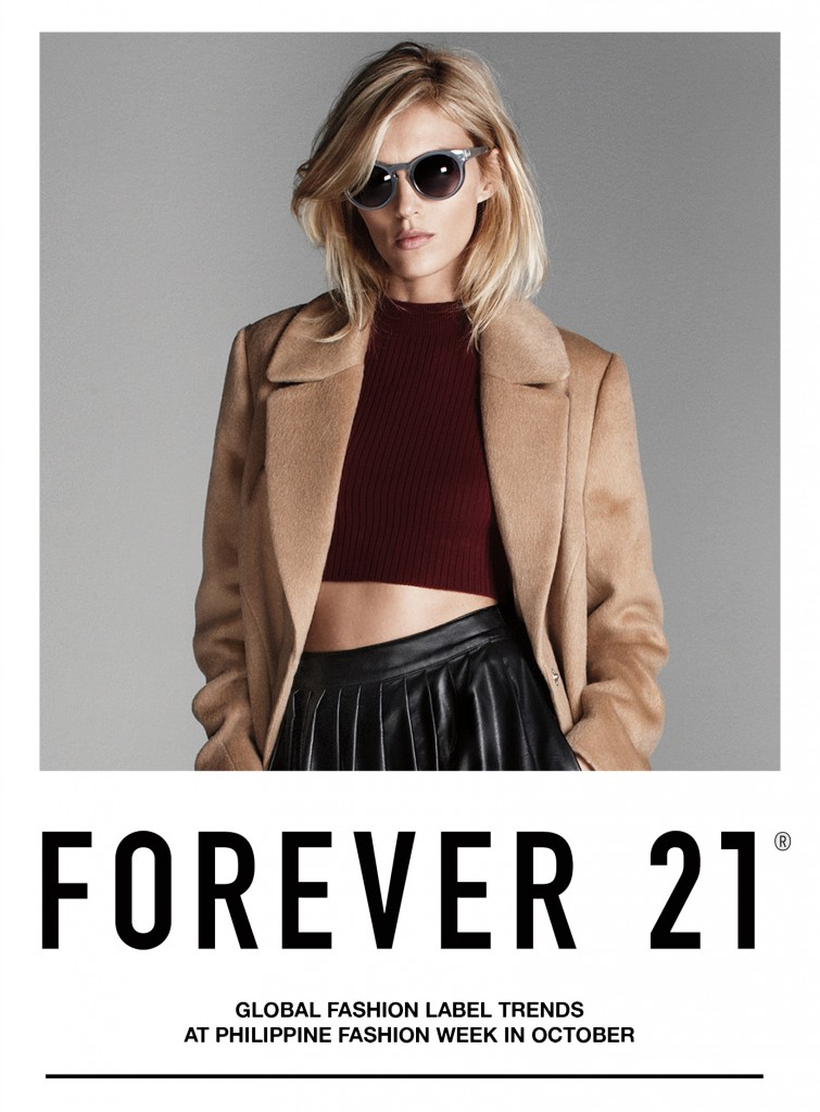 Forever 21: Setting Trends at Philippine Fashion Week This October 2014