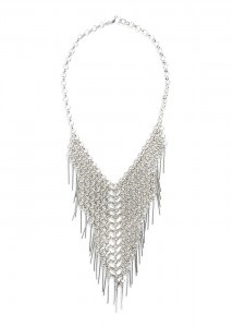 Pendant waterfall necklace, P1,750 (Available at Mango)
