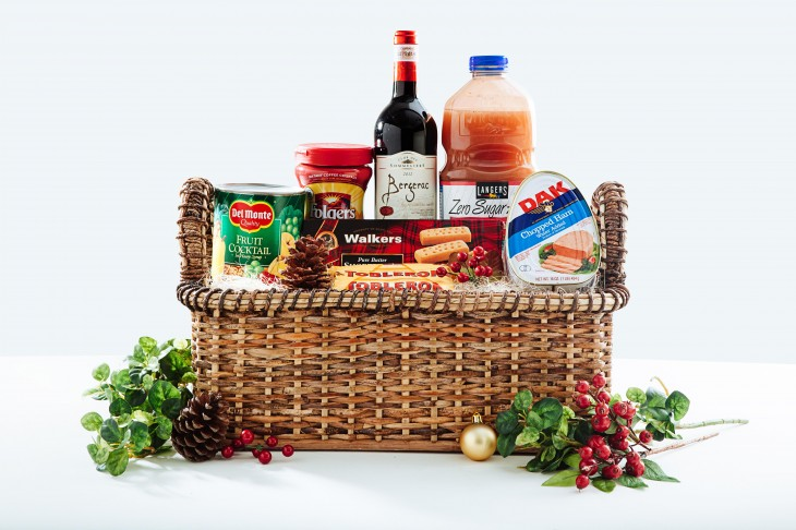 Christmas gift basket ideas for the whole family