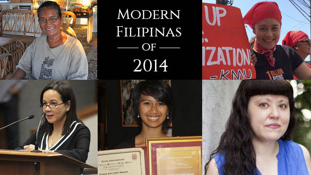 5 Modern Filipinas Who Inspired Us in 2014