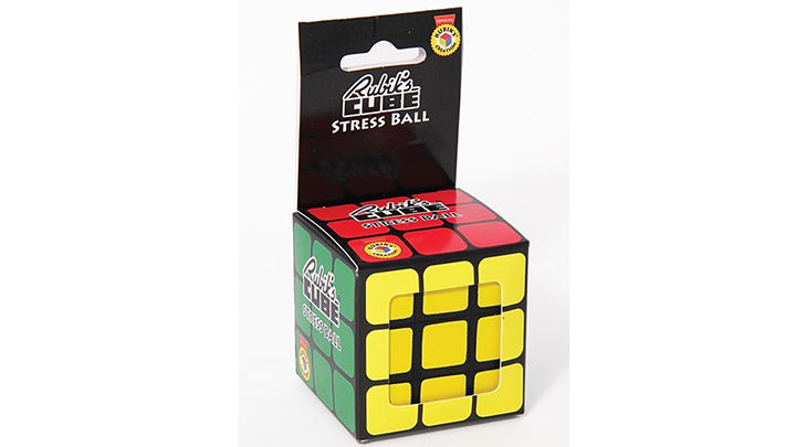 Rubik's Cube Stress Ball by Paladone, P395 at Quirks Novelties & Curiosities