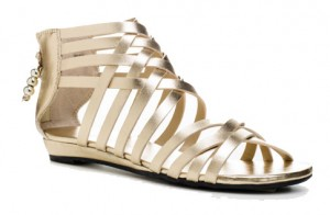 Zip-up gladiator flats, Payless Shoe Source