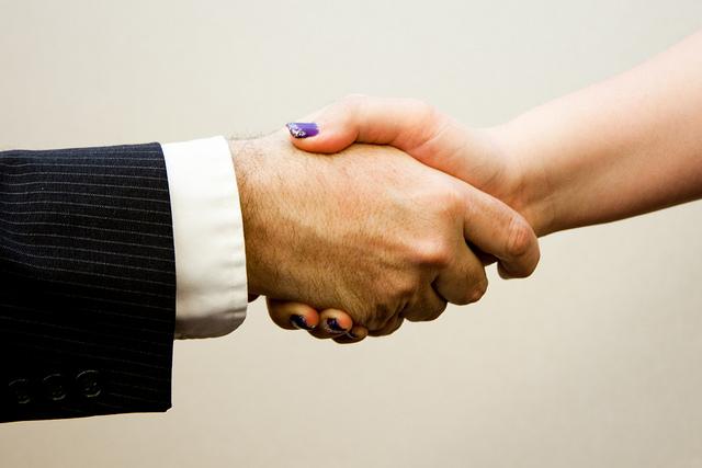 """Handshake man - women"" by Flazingo Photos"