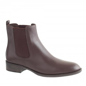 Leather Chelsea boots, J. Crew