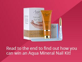 Aqua Mineral Nail Kit