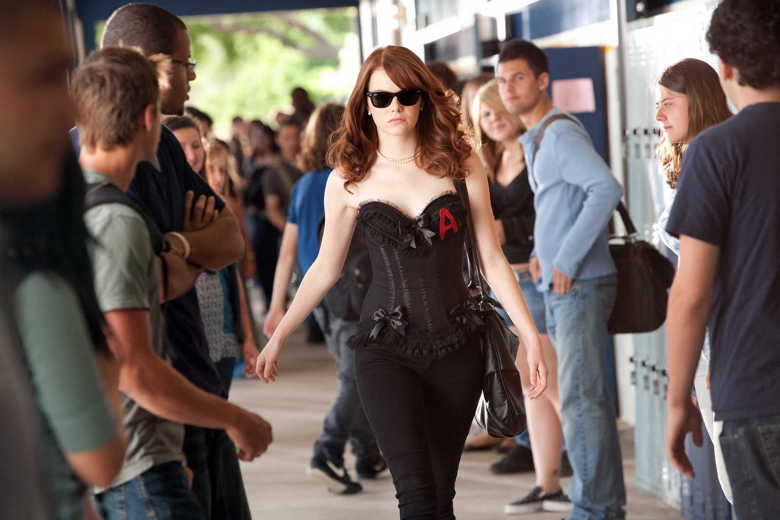 easy a emma stone as olive