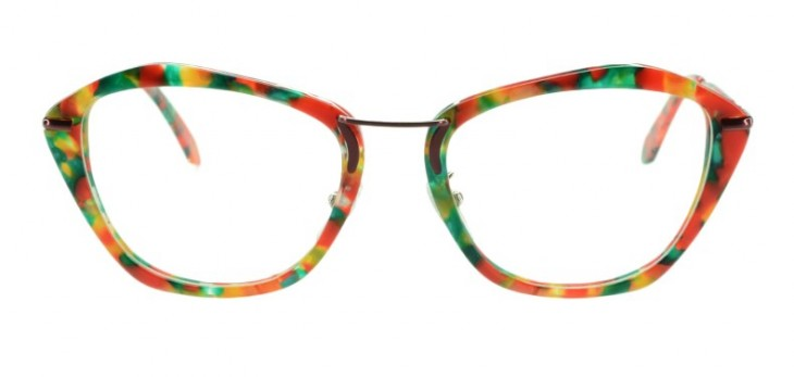 Oval-shaped faces are lucky because most frames suit them. Go for a mix of styles like squoval cat-eye frames. Try: Watermelon in two-tone, P1,995, Four Eyes