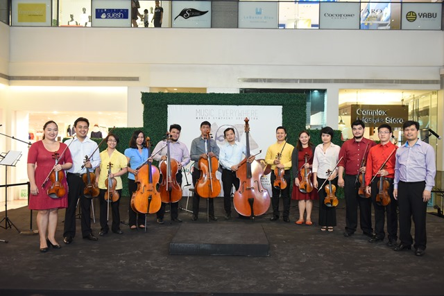 The Manila Symphony Orchestra (Photo courtesy of Visions and Expressions)