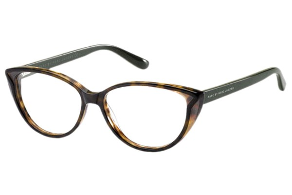 If you're classic and chic, try these Cat Eye frames in brown, P5,095, Marc by Marc Jacobs