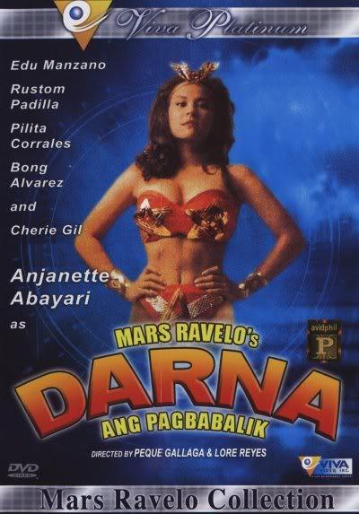 Poster of Darna Ang Pagbabalik> courtesy of Viva Films