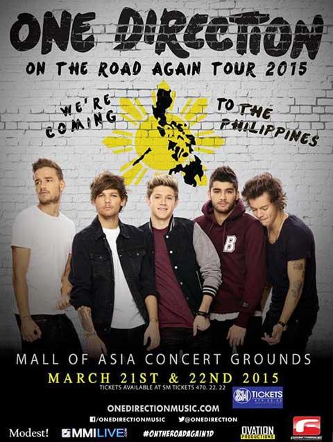 Modern Filipina--One Direction