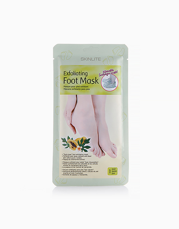 Try: Exfoliating Foot Mask with Papaya & Chamomile, P180, Skinlite