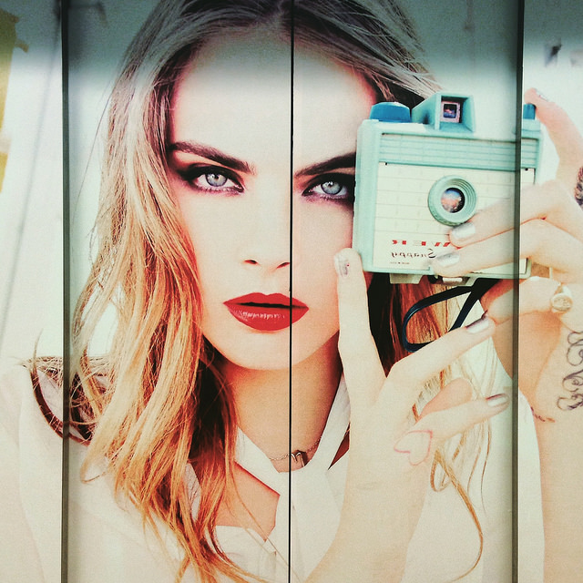 Image of Cara Delevingne from Rivera Notario via Flickr Creative Commons