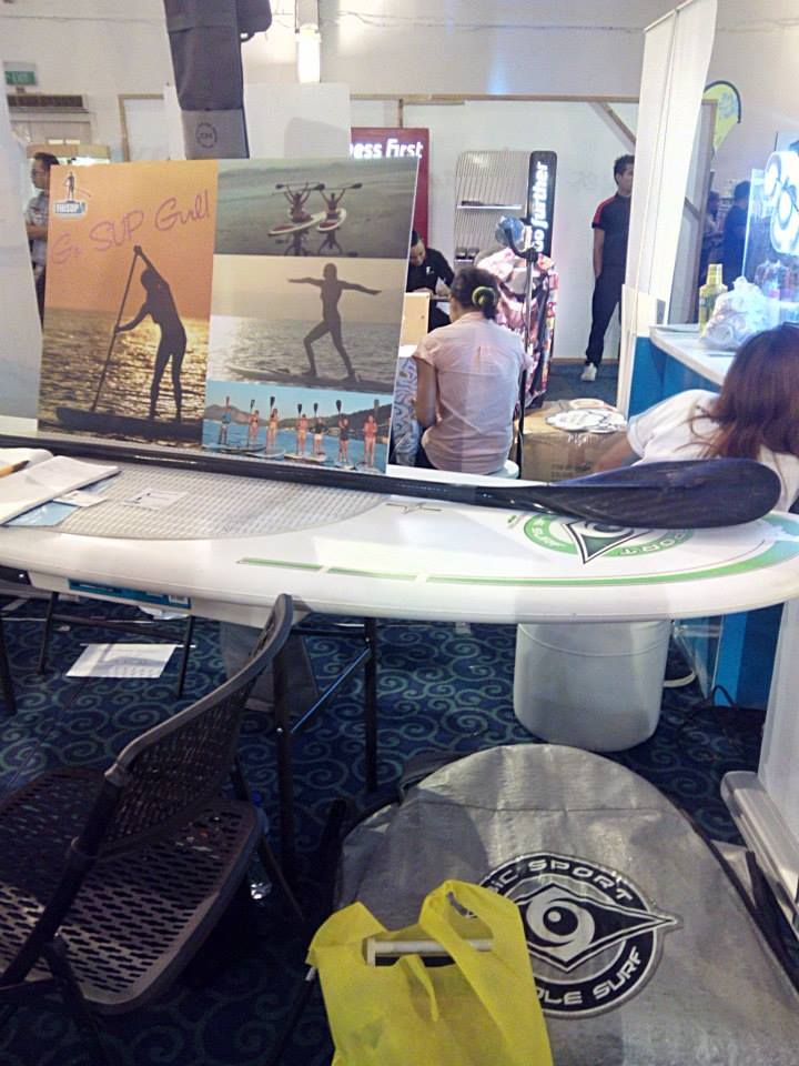 Modern Filipina--Go Girl--Paddle Boarding