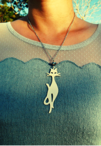 Feline Necklace, P280 from the Bulb Project via zalora.com.ph