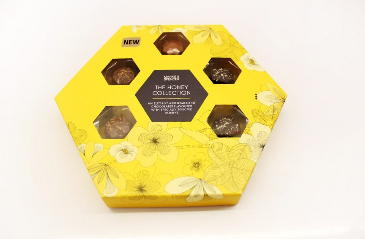The Honey Collection, P1,295 An elegant assortment of chocolates flavoured with specially selected honeys