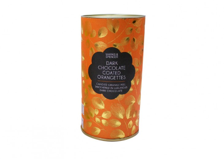 Dark Chocolate Coated Orangettes, P595 Candied orange peel smothered in luxurious dark chocolate