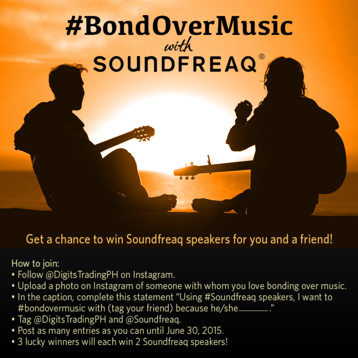 #BondOverMusic with Soundfreaq