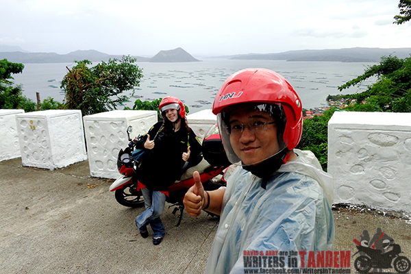 Photo with Taal Volcano taken in Tagaytay