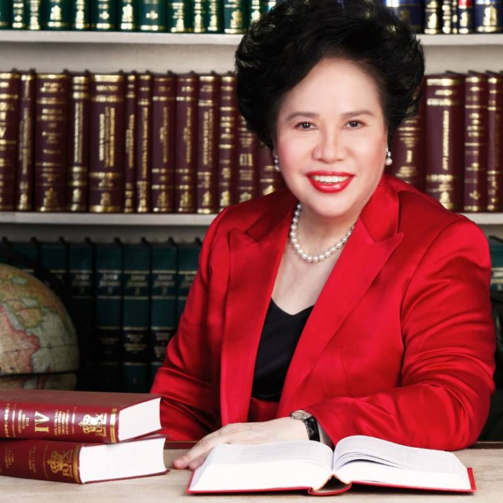 Modern Filipina--Miriam Santiago