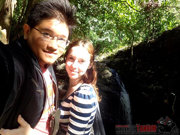 Photo taken at El Kabayo Falls, Subic