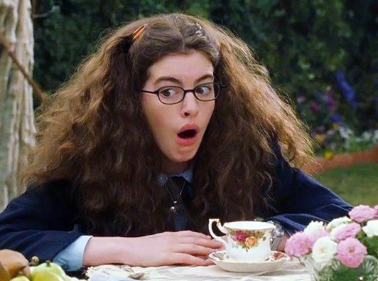 Image from Princess Diaries courtesy of Walt Disney Pictures.