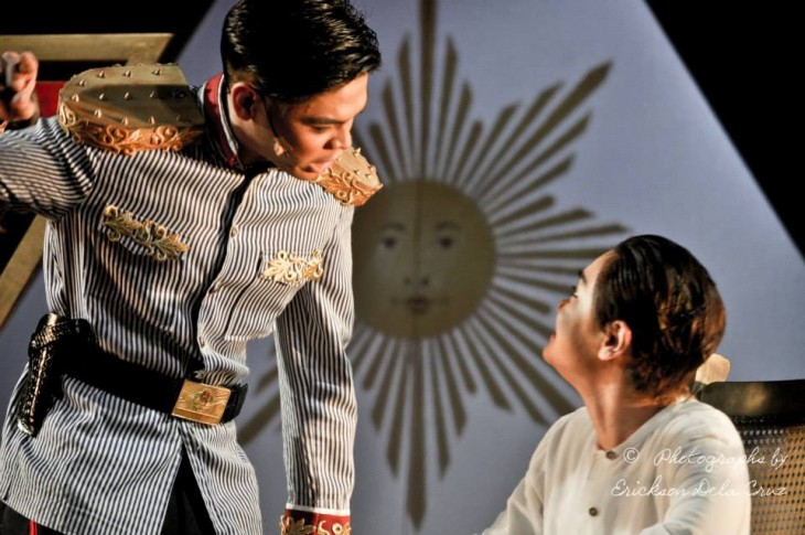 The musical shows the way Mabini and Aguinaldo often butted heads following the 1898 declaration of independence.