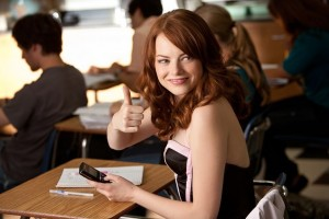 Photo from Easy A via Screen Gems