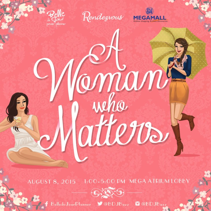 BDJRENDEZVOUS_A WOMAN MATTERS_EVENT POSTER