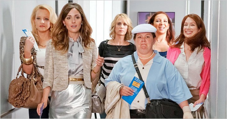 Screencap from Bridesmaids courtesy of Solar Entertainment