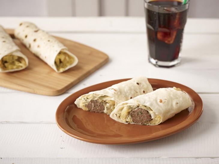 Grilled Lamb Kofta Wrap