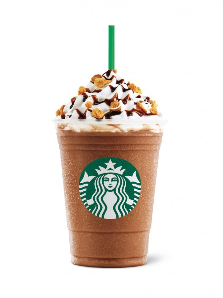 Honeycomb Crunch Mocha Frappuccino