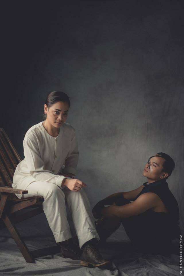 Modern Filipina--Delphine as Mabini