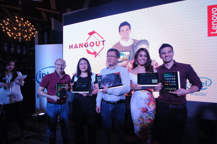 Modern Filipina--Lenovo Officers with celebs