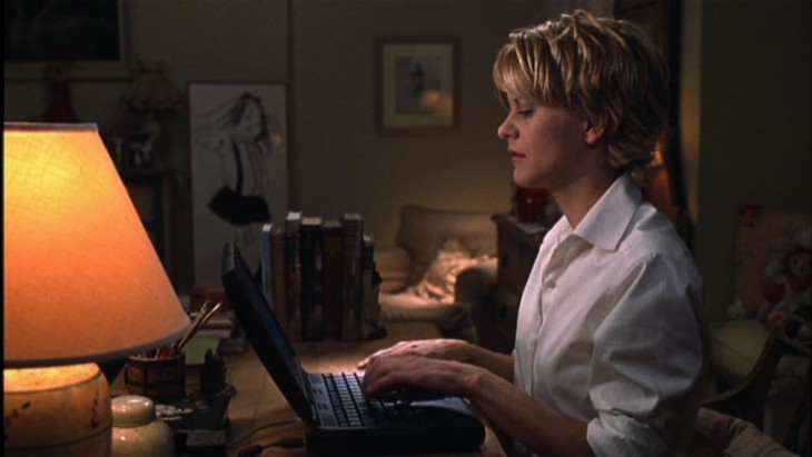 Image from You've Got Mail via Warner Bros. Entertainment