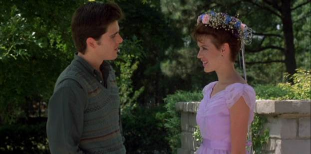 Photo from Sixteen Candles. Courtesy of Universal Pictures.
