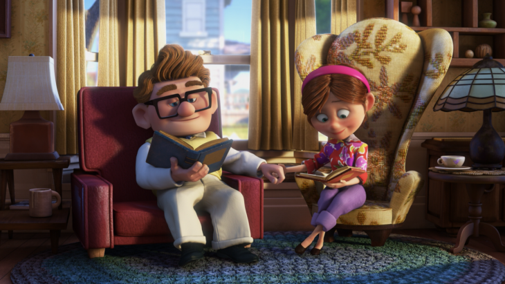 Screencap from Up courtesy of Columbia Pictures