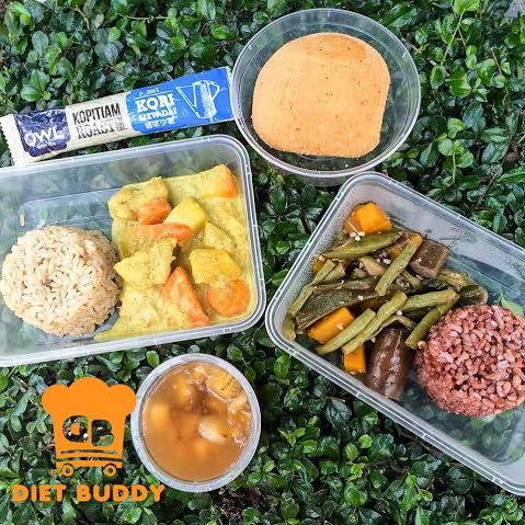 Image of a meal set from Diet Buddy (grabbed with permission from Diet Buddy)