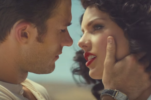 "Screencap from ""Wildest Dreams"" courtesy of Big Machine Records"