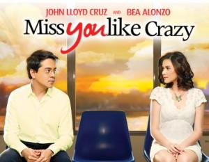 Movie poster from Miss You Like Crazycourtesy of Star Cinema