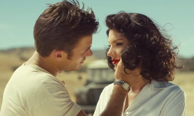 "Screencap from ""Wildest Dreams"" courtesy of YouTube"