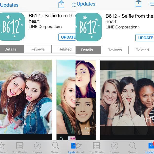 Screenshot from App Store