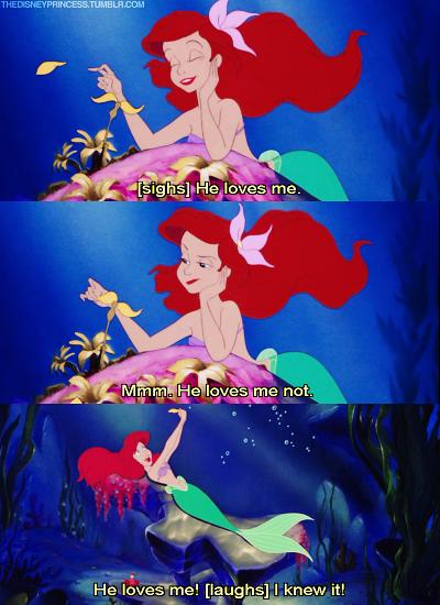 Image from Walt Disney's The Little Mermaid via Tumblr