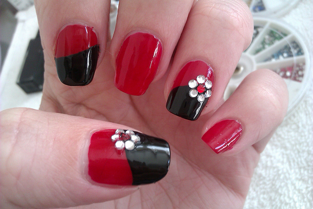Image by DIY Nail Art Designs via Flickr