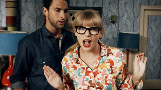 Image from Taylor Swift's official music video