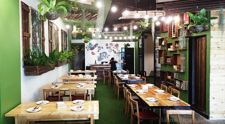 Review Comfort Food And An Urban Garden At Earth Kitchen Bgc