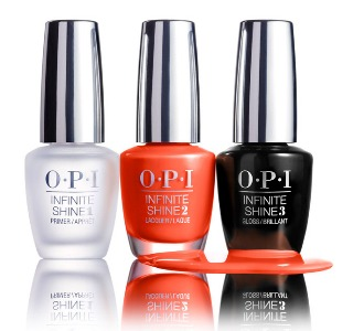 OPI Infinite Shine Collection Endurance Race To Finish